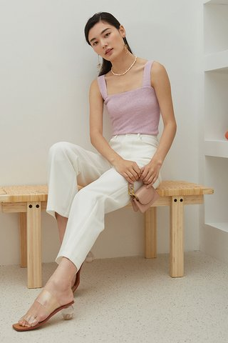 Brea Knitted Top in Paddlepop Pink