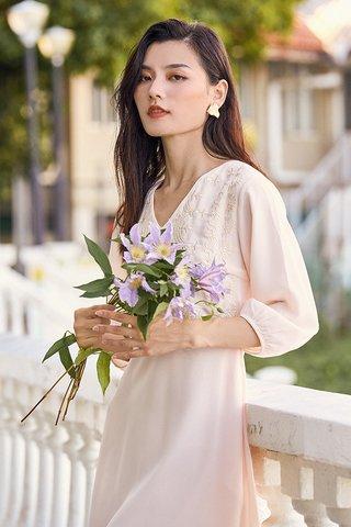 Koni Dress in Cream