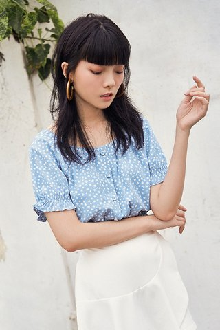 Kylise Top in Blue