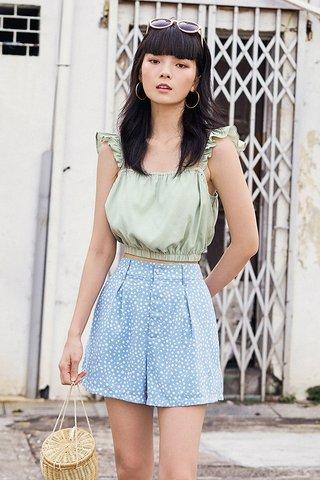 Kylise Shorts in Blue