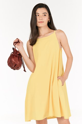 Calisa Swing Dress in Sunshine