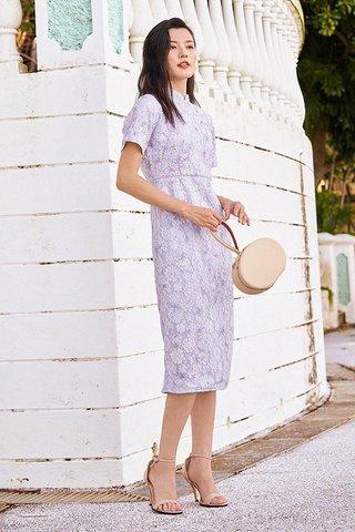 Aydella Qipao in Lilac