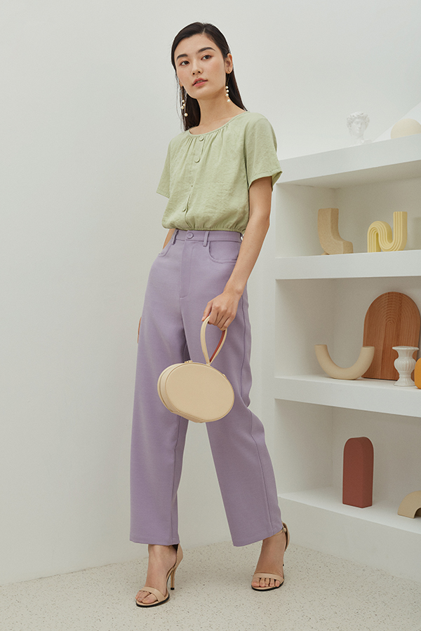 Grandell Pants in Lilac