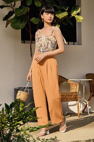 Moris Pants in Sunrise Orange
