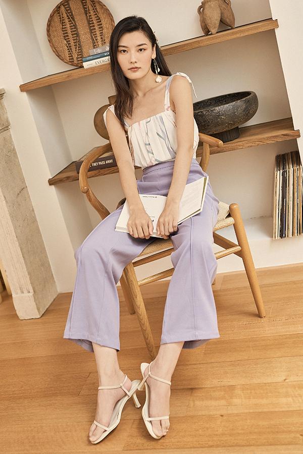 Rendia Pants in Lilac