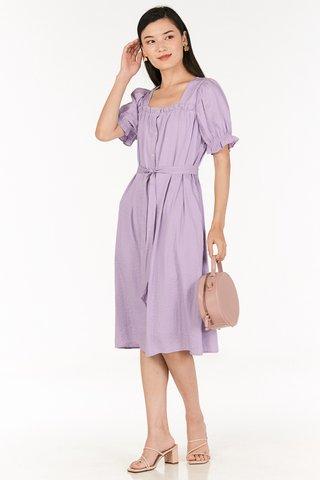 Grenda Dress in Lilac