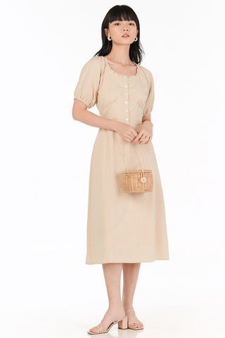 Trina Dress in Khaki