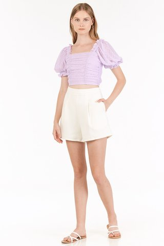 Aden Shorts in White