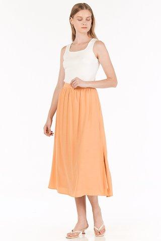 Flonn Midi Skirt in Melon
