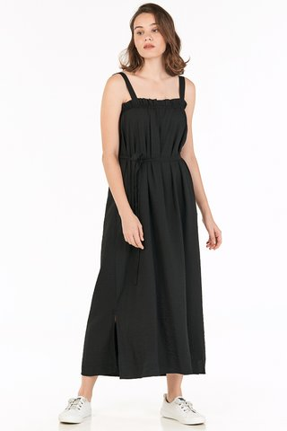 *Backorder* Kelson Maxi Dress in Black
