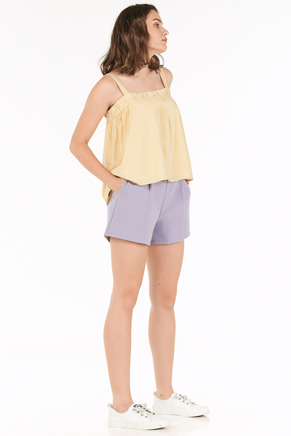 Aden Shorts in Lilac