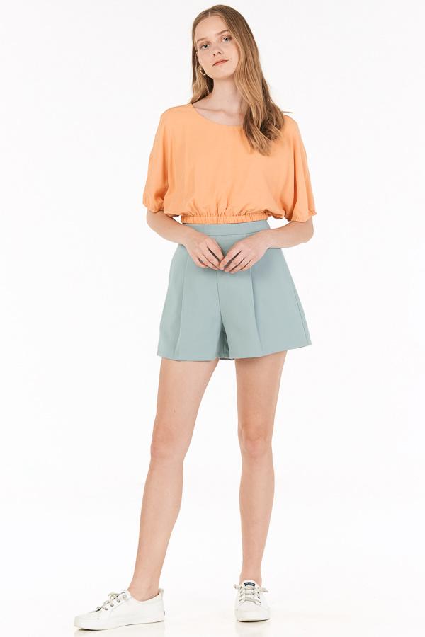 Aden Shorts in Slate Blue