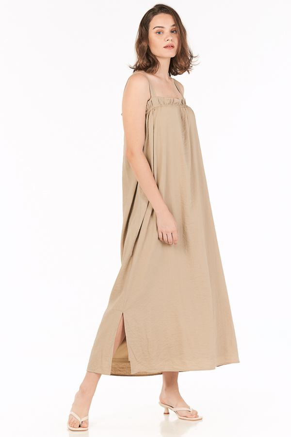 Kelson Maxi Dress in Khaki
