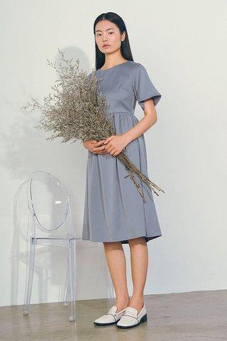 Betty Midi Dress in Periwinkle