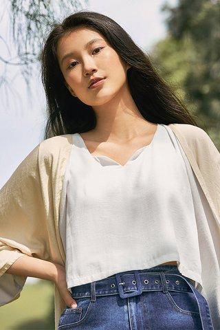 Kyna Top in White