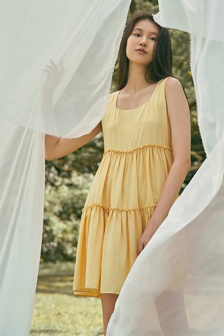 Lola Babydoll Dress in Sunshine