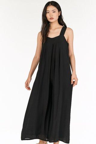 Mavis Jumpsuit in Black