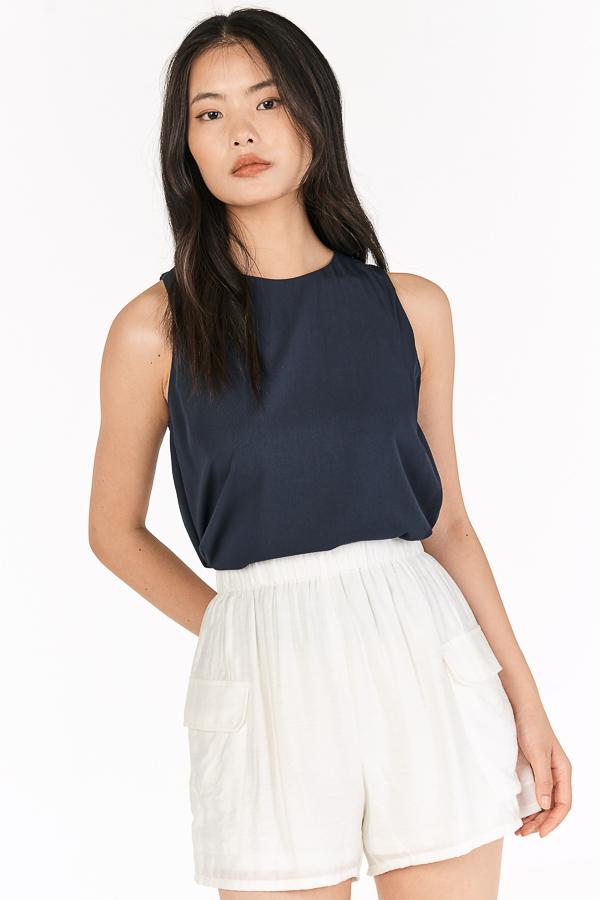 Allie Pocket Shorts in White