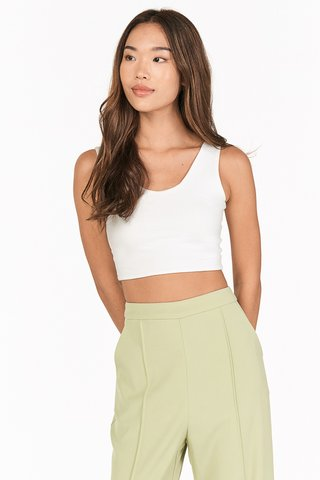 Tova Two Way Top in White