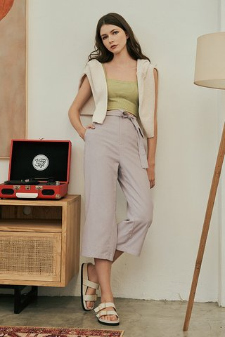 Ford Linen Culottes in Mist