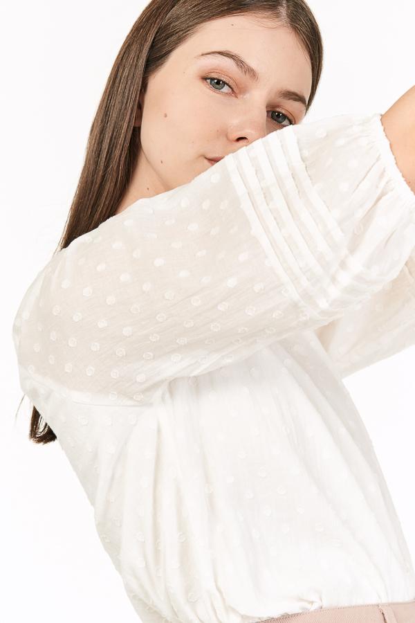 *Backorder* Farryn Top in White