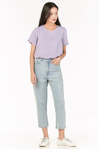 Elise Top in Ash Lilac