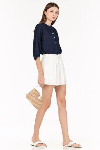 Leroy Shorts in White