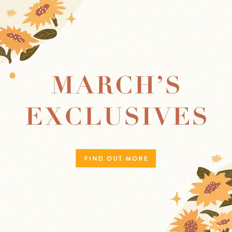 Mar 2021 Exclusives
