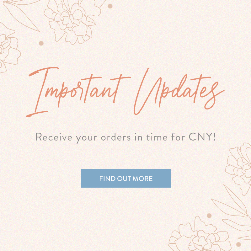 Important Updates For CNY