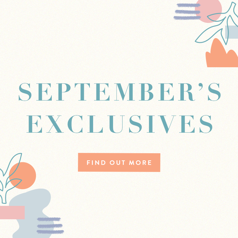 Sep 2020 Exclusives
