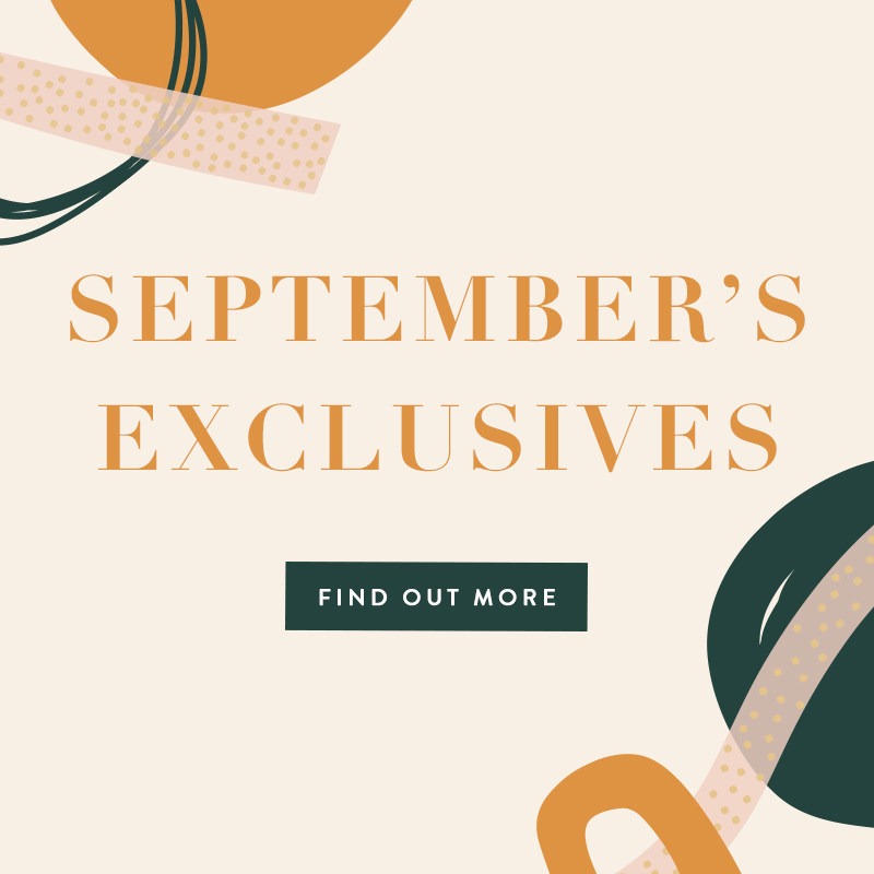 September 2019 Exclusives